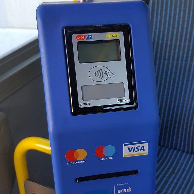 Oradea devine al doilea oraș din România în care BCR și Telekom introduc plata cu ajutorul cardurilor contactless în mijloacele de transport public