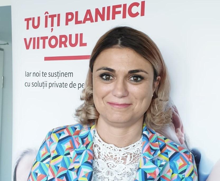 Alina Andreescu este noul Director General al BRD Pensii