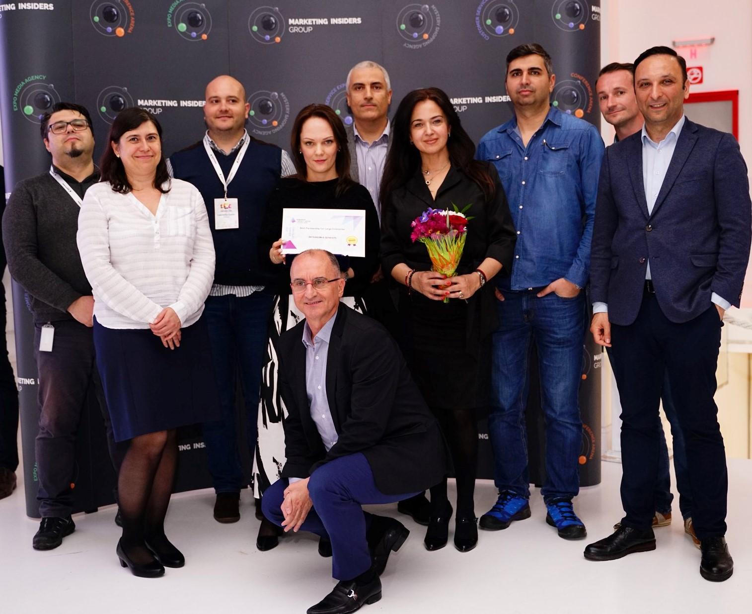 Intrarom & Genesys primesc Best Partnership for Large Enterprises Award