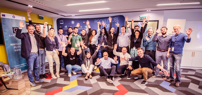 Cele 7 start-up-uri din a treia rundă a programului Techcelerator primesc o finanțare inițială de 350.000 de euro de la GapMinder