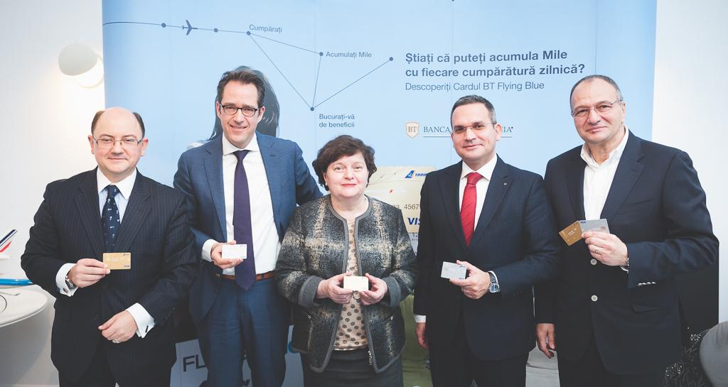 Banca Transilvania accelerează pe segmentul de retail: card cobranded cu TAROM, Air France/KLM şi asigurare pentru posesorii de KID Cont
