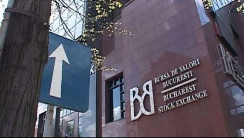 Bursa de Valori Bucureşti a scăzut uşor în octombrie