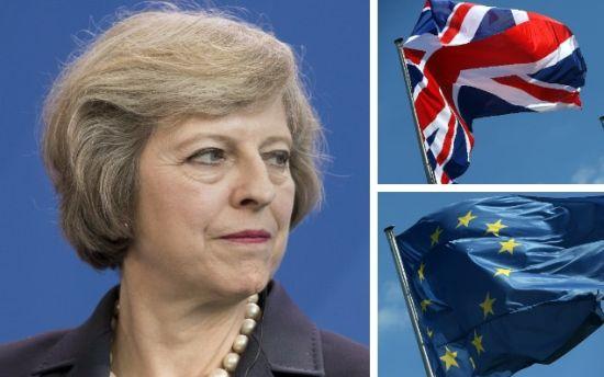 Lira cade înaintea zilei în care Theresa May va anunţa planul de Brexit
