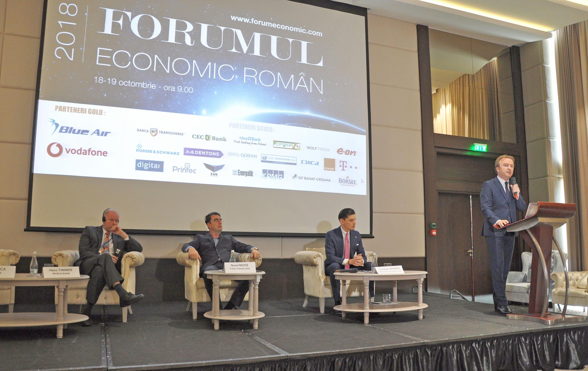Forumul Economic Român, ediție inaugurală de succes