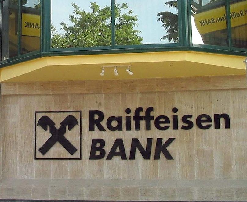 Raiffeisen Bank a înregistrat un profit net de 397 de milioane de lei în prima jumătate a acestui an