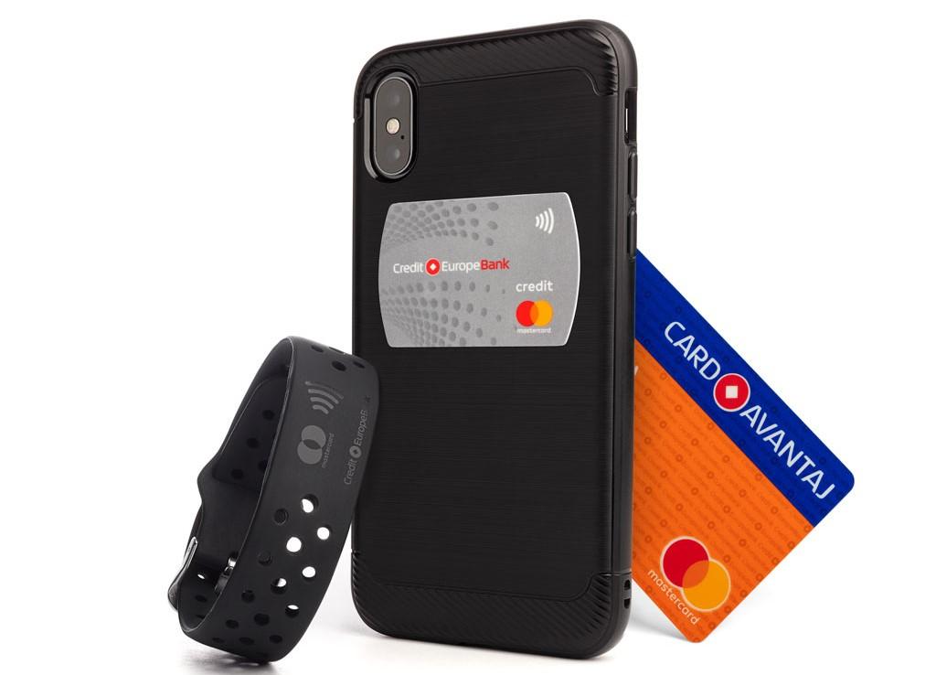 Credit Europe Bank lansează Stickerul și Brățara AVANTAJ2go contactless