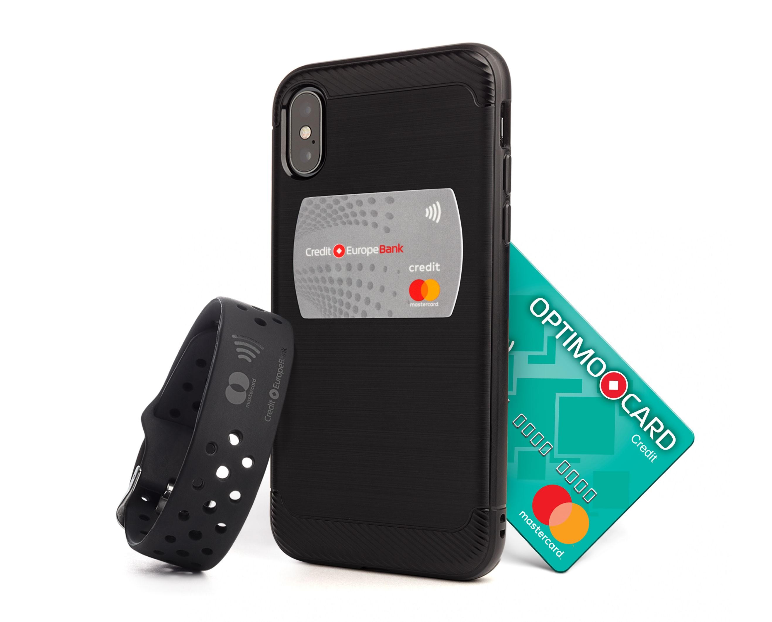 Stickerul și Brățara OPTIMO2go contactless – noile gadgeturi emise de Credit Europe Bank