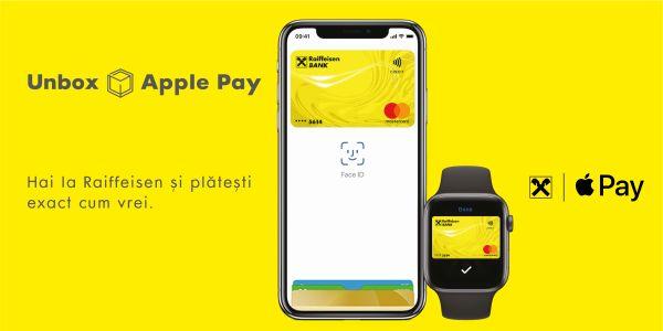 Clienţii Raiffeisen Bank pot plăti cu Apple Pay