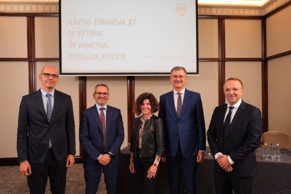 Grupul Financiar Banca Transilvania se extinde în domeniul pensiilor private