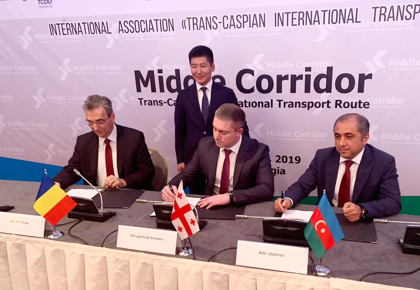 Grupul GRAMPET – Grup Feroviar Român închide ultima verigă din lanțul Middle Corridor prin lansarea rutei navale Batumi/Poti – Constanța