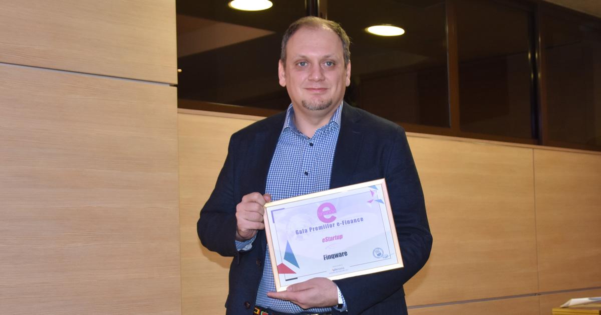Fintech-ul Finqware, premiat la ediţia a XVII-a Galei e-Finance