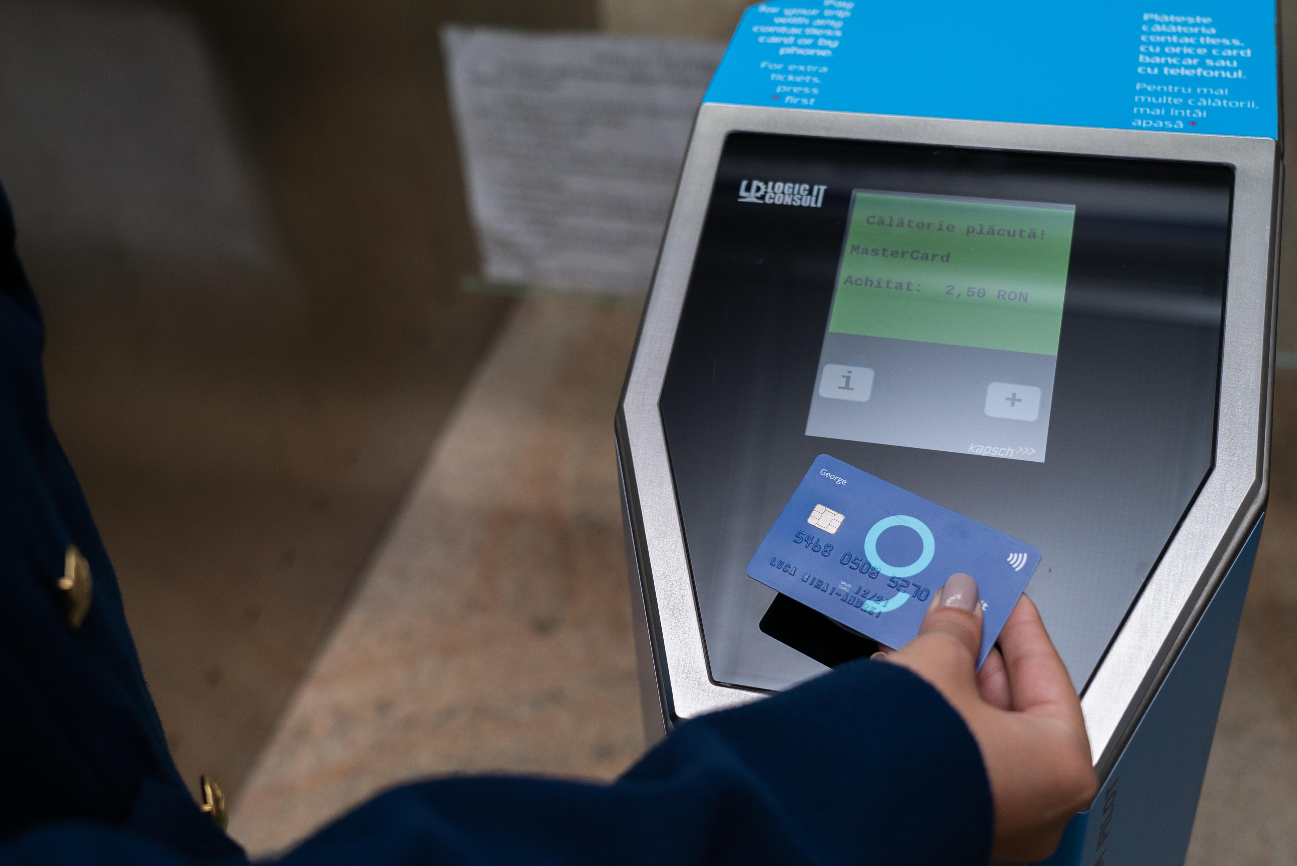 Plata la metrou cu cardul contactless, direct la porțile de acces, extinsă de Metrorex și BCR în toate stațiile cu acces modernizat