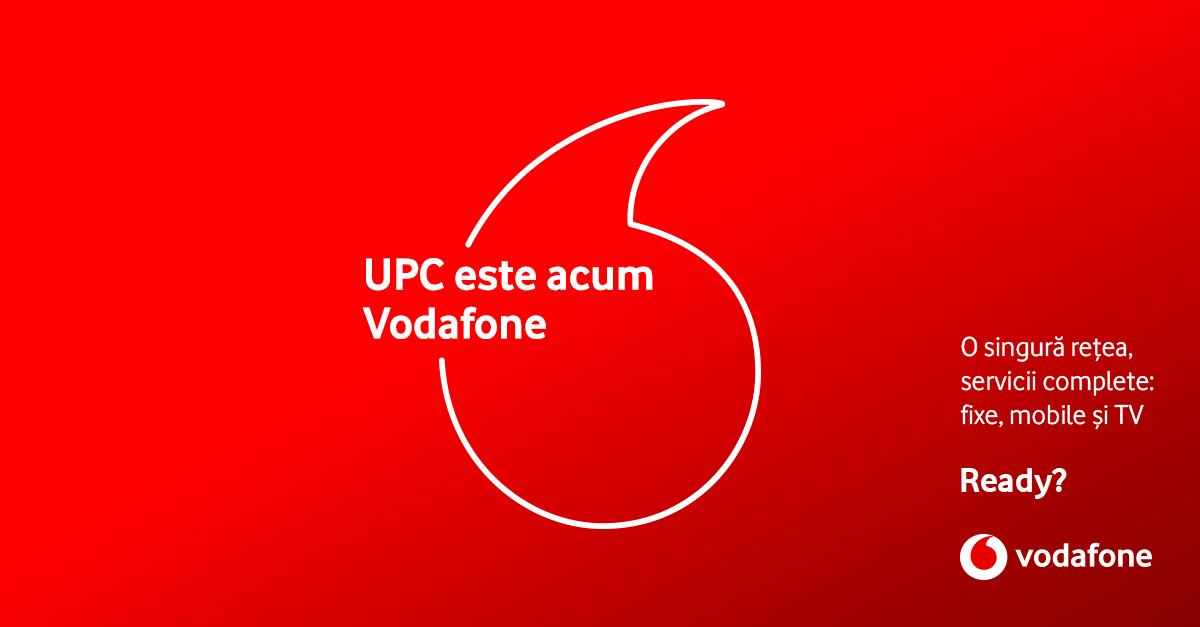 Vodafone România și UPC au încheiat procesul de fuziune