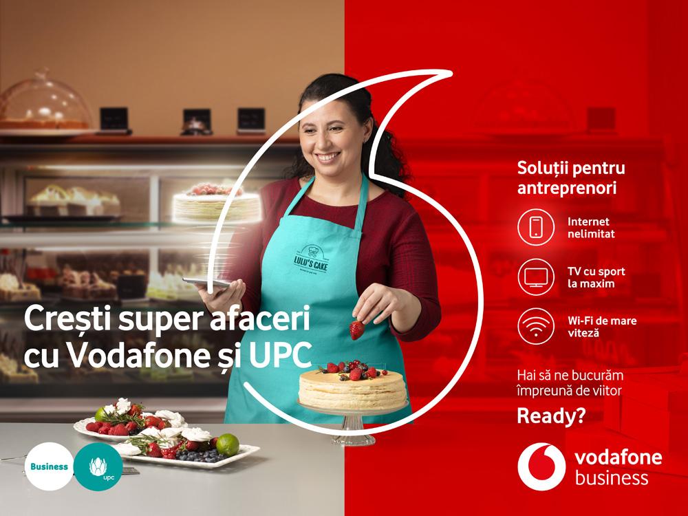 Vodafone România lansează oferte speciale complete pentru antreprenori