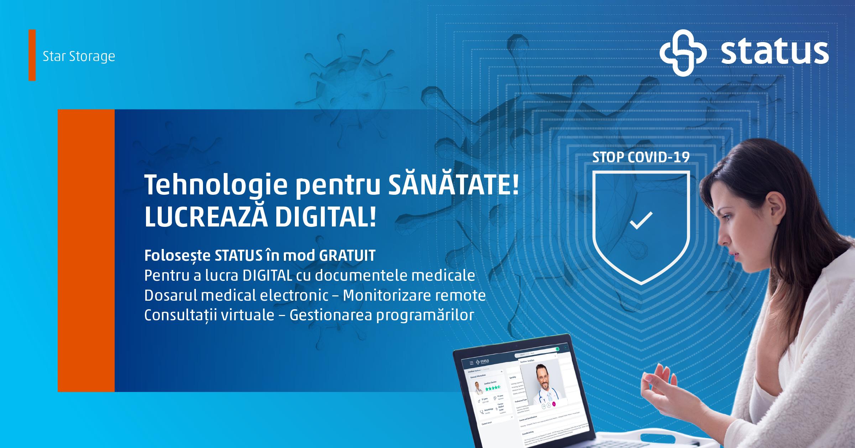"""Star Storage lansează programul """"Tehnologie pentru Sănătate"""""""