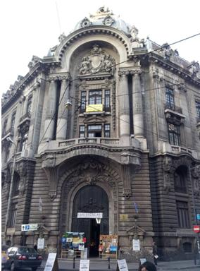The Stock Exchange Should Return Home At Ghica Street and Doamnei Street