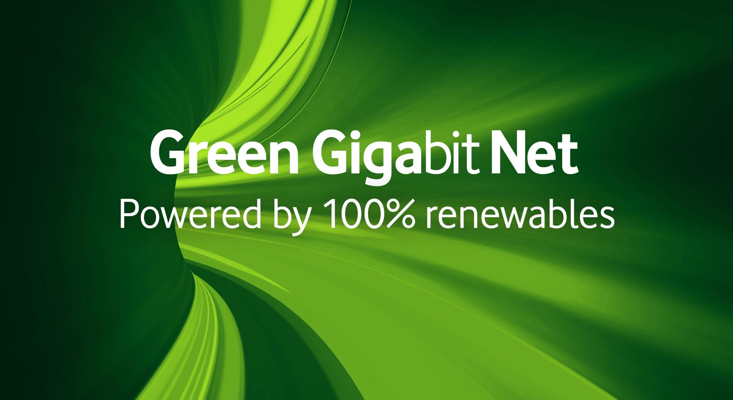 Rețeaua Vodafone din Europa va deveni 100% verde