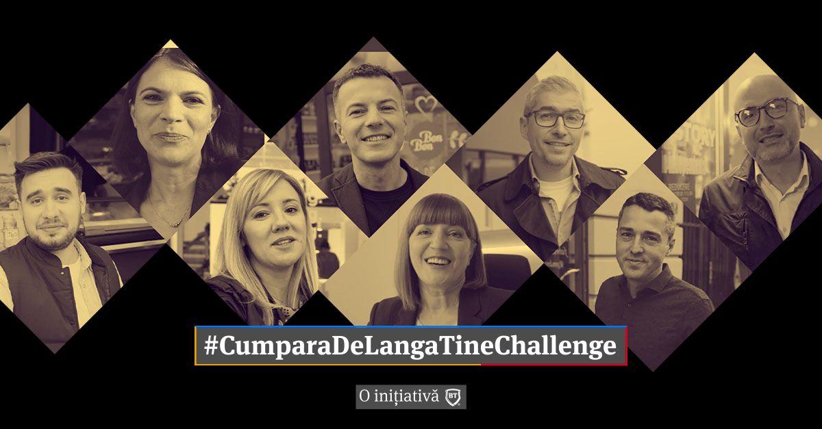 #CumparaDeLangaTine Challenge, mişcare lansată de BT pentru susţinerea afacerilor locale