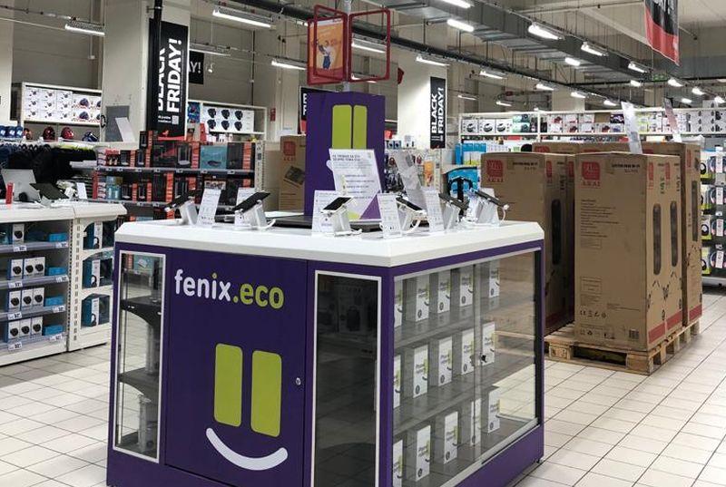 Startup-ul fenix.eco a încheiat un parteneriat cu Auchan pentru distribuția de smartphone-uri recondiționate cu garanție