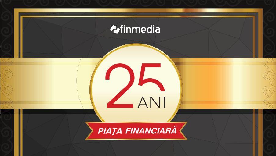 Revista Piaţa Financiară, ajunsă la 25 de ani, a premiat performerii din economie
