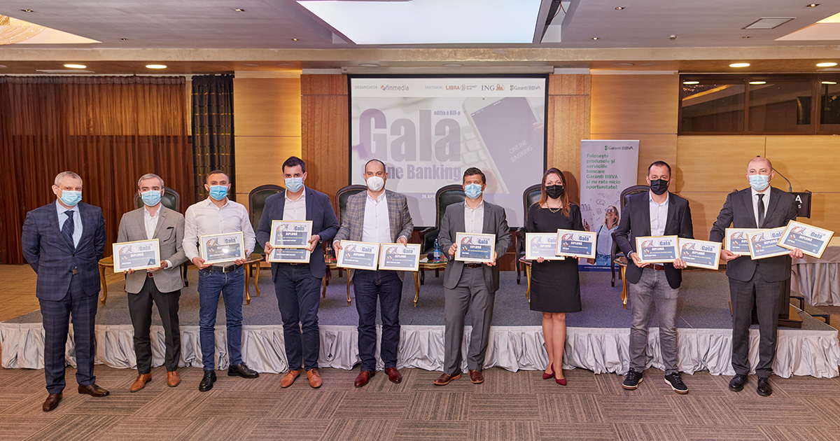 Gala Premiilor Anuale Online Banking