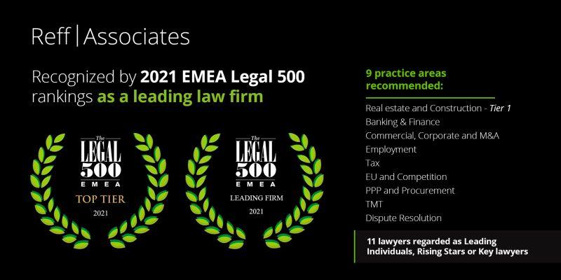 Deloitte Legal, desemnată de Legal 500 EMEA 2021 printre liderii societăților de avocați în nouă arii de practică