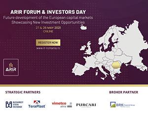 Comisia Europeană la Forumul ARIR: Rolul piețelor de capital este crucial în procesul de revenire economică
