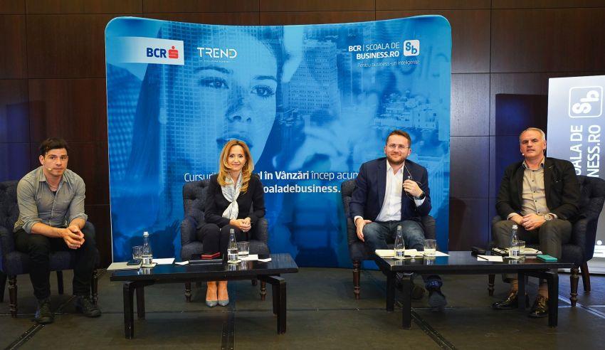 """BCR Școala de Business, în parteneriat cu Trend Consult, lansează un curs nou de competențe antreprenoriale despre """"Succesul în vânzări: de la pitch la crearea de valoare"""""""