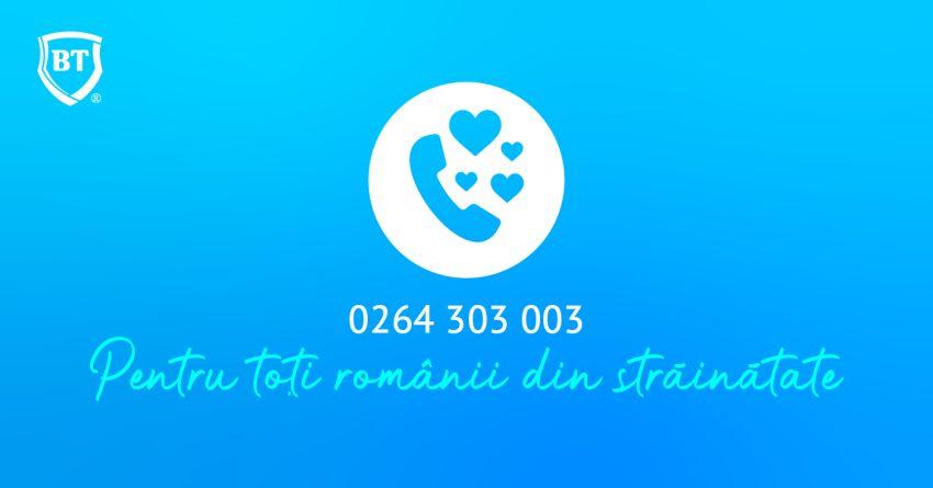 Număr dedicat de Call Center pentru clienţii BT din străinătate