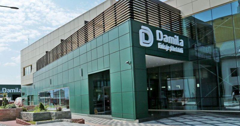 Pachet financiar de 24,7 mil. lei de la EximBank pentru  distribuitorul şi producătorul de materiale de cons¬trucţii Damila